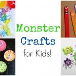 Monster Crafts for Preschoolers