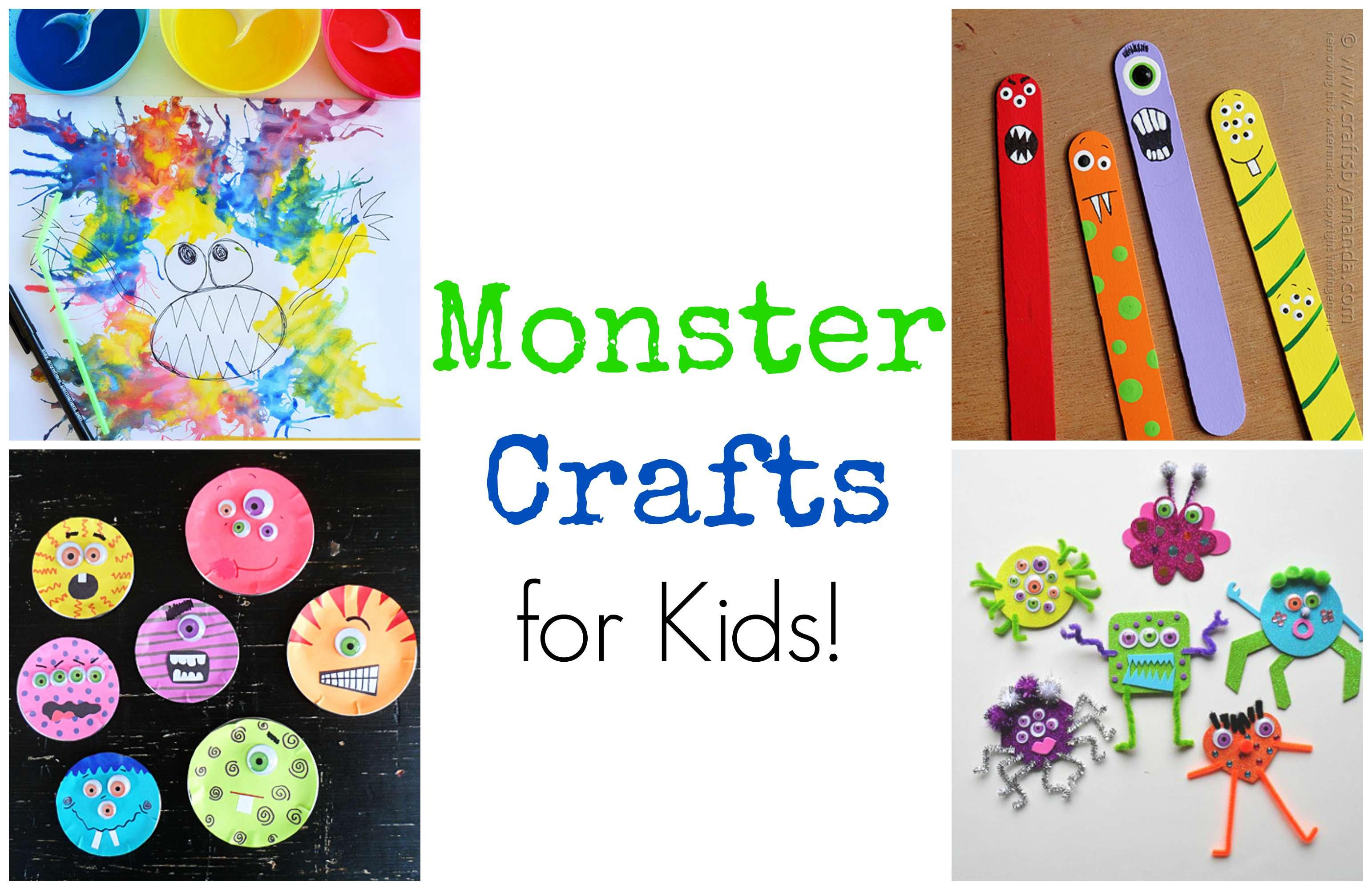Fun Crafts For Preschoolers Pinterest