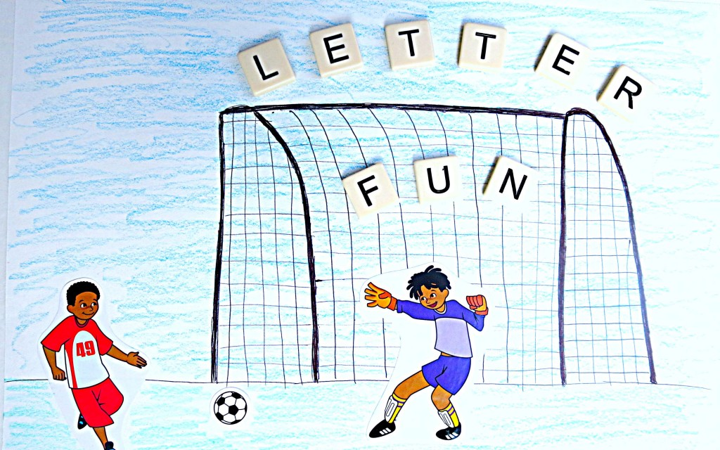 soccer spelling and letter recognition