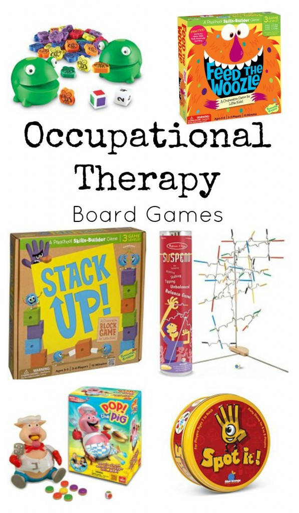 occupational therapy board games