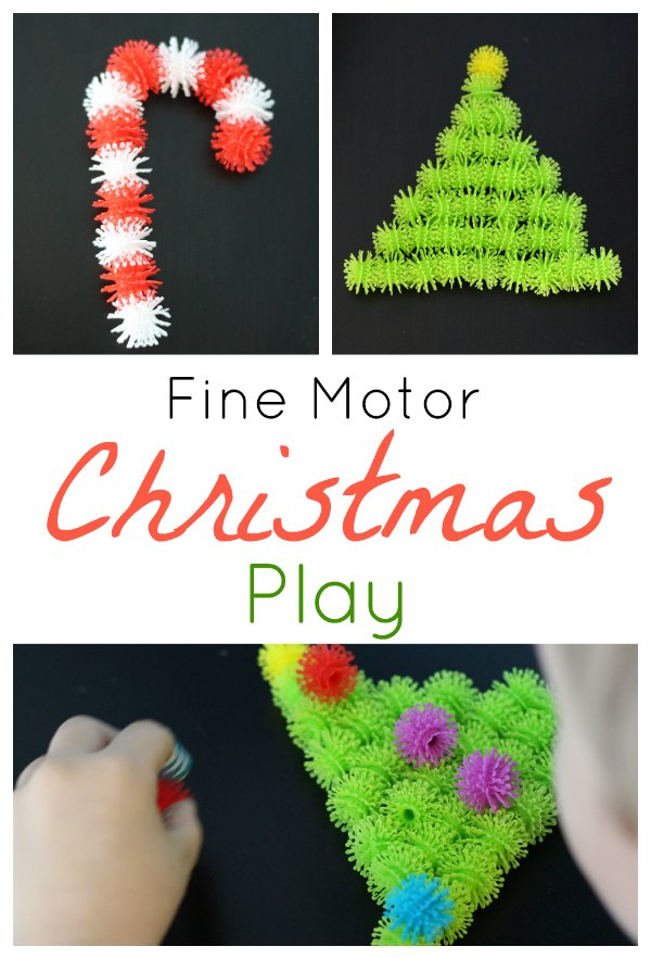 Bunchems Fine Motor Christmas Play Pin