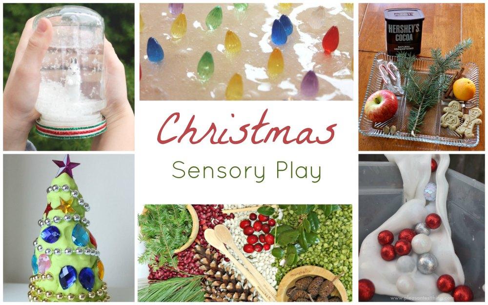 Christmas Sensory Play FB