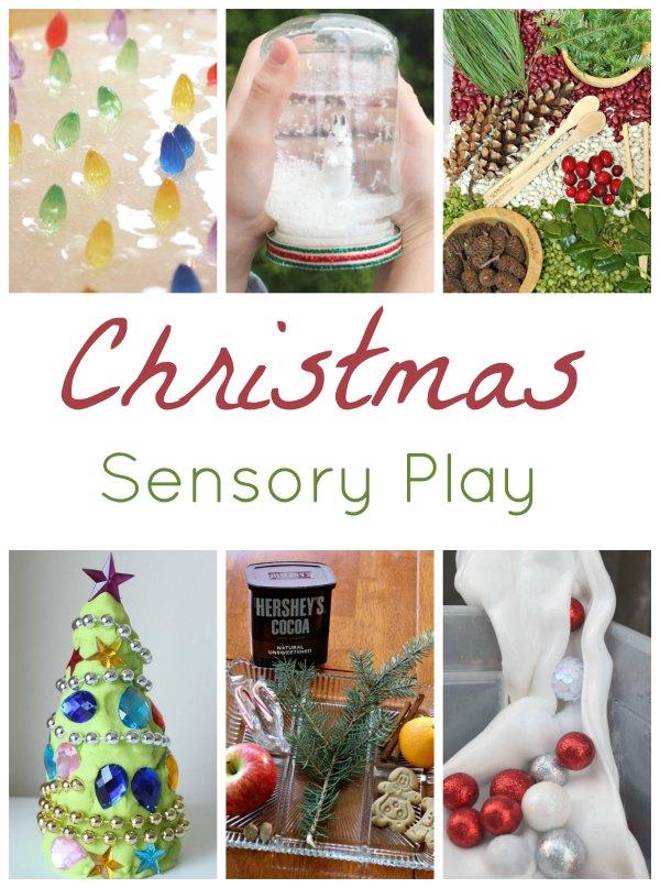 Christmas Sensory Play Round Up
