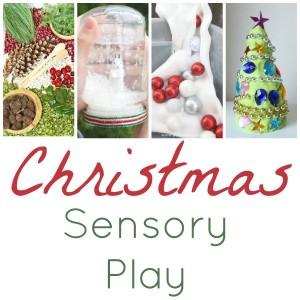 Christmas Sensory Play Square