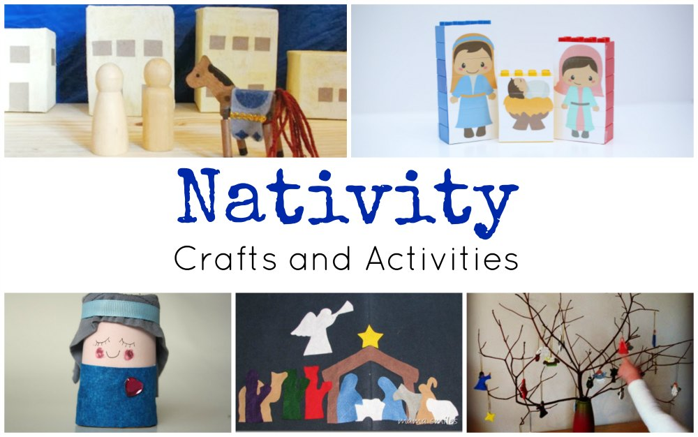 Nativity Crafts and Activities FB