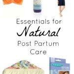 Natural Post Partum Care