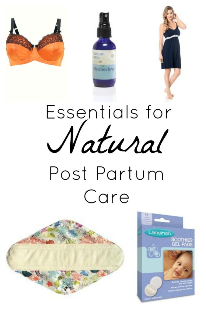 natural post partum care