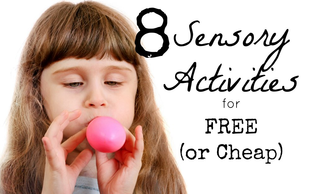 Free Sensory Activities to Help Kids Calm Down