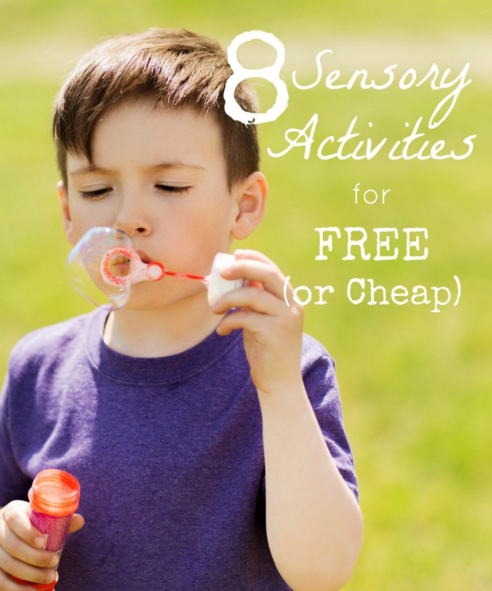 Free Calming Sensory Activities