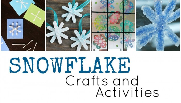 Snowflake Crafts and Activities