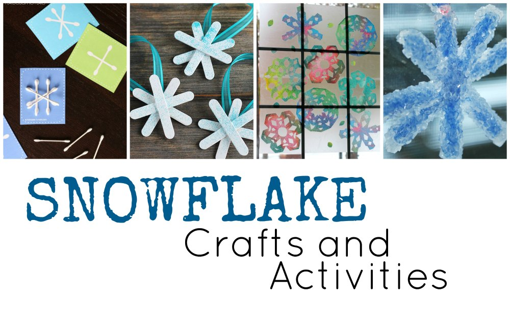Snowflake Crafts and Activities FB