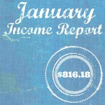 Blogging Income Report for January 2016