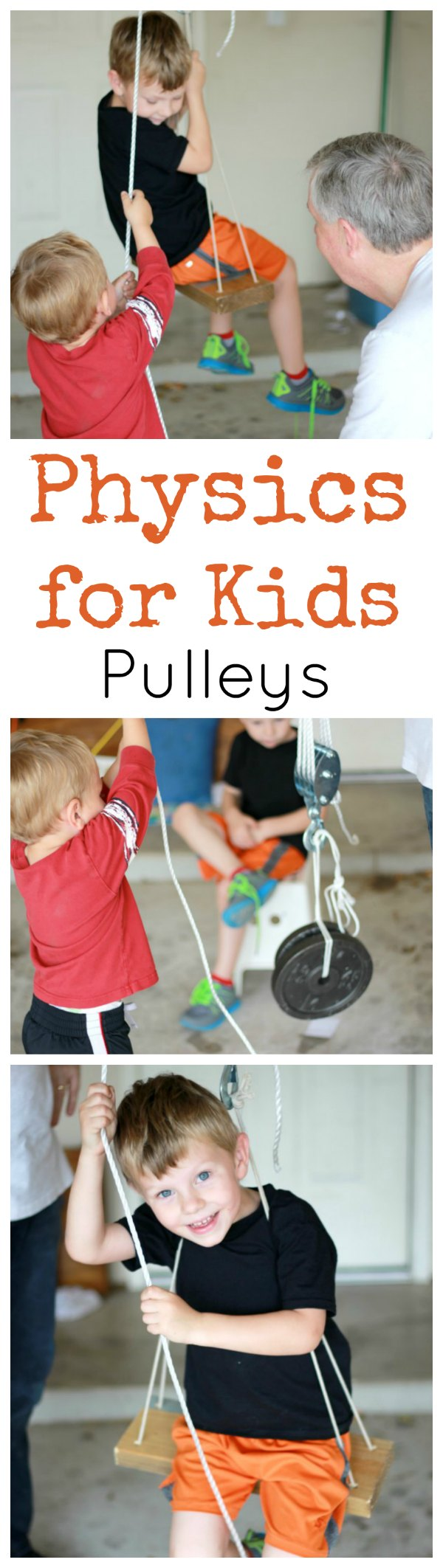 Physics for Kids Pulleys