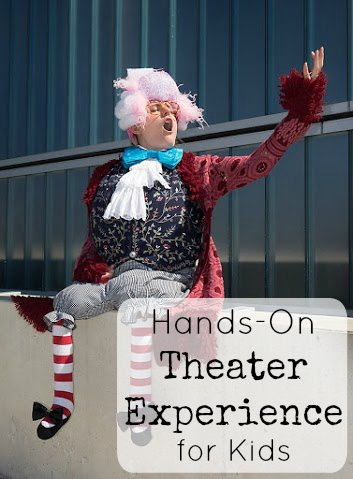 hands on theater experience for kids