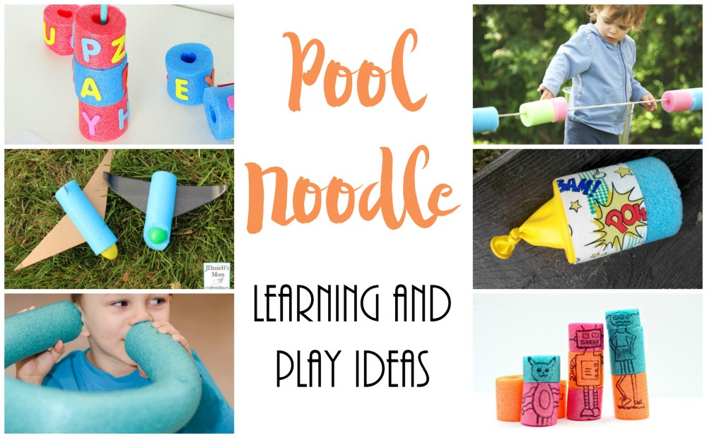 Pool Noodle Learning and Play Ideas FB