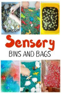 Sensory Bins and Bags