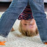 Sensory Play with Sitting Spots