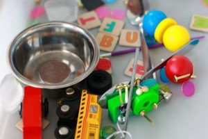 Magnetic Sensory Bin for Kids