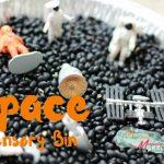 Space Sensory Bin for Kids