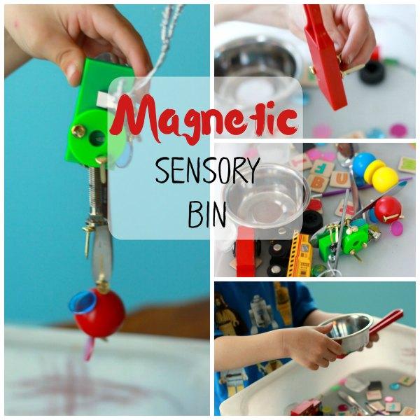 Magnetic Sensory Bin