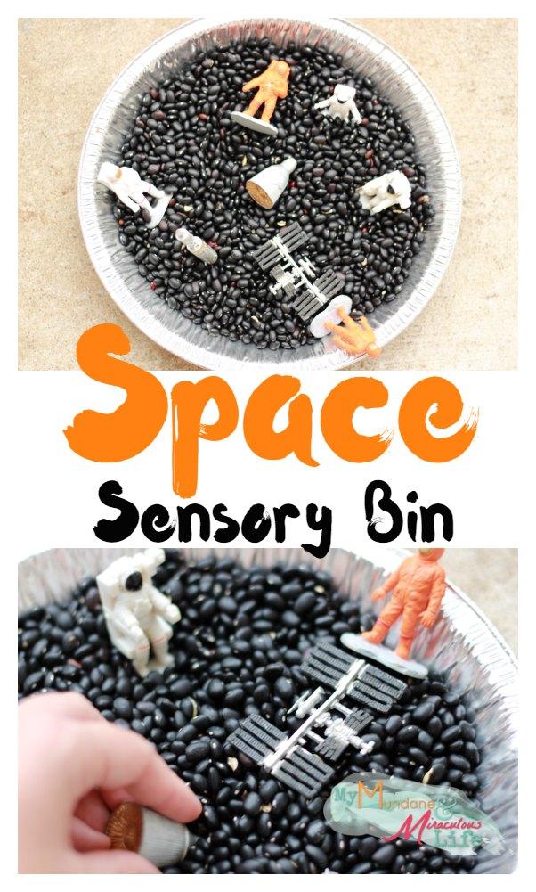 Space Sensory Bin