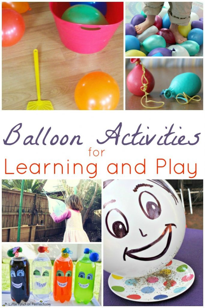 Balloon Activities for Learning and Play with two lls)