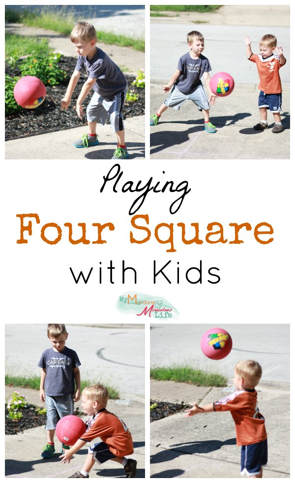 Four Square with Kids