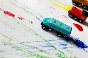 Exploring Colors with Trains: A Book Activity
