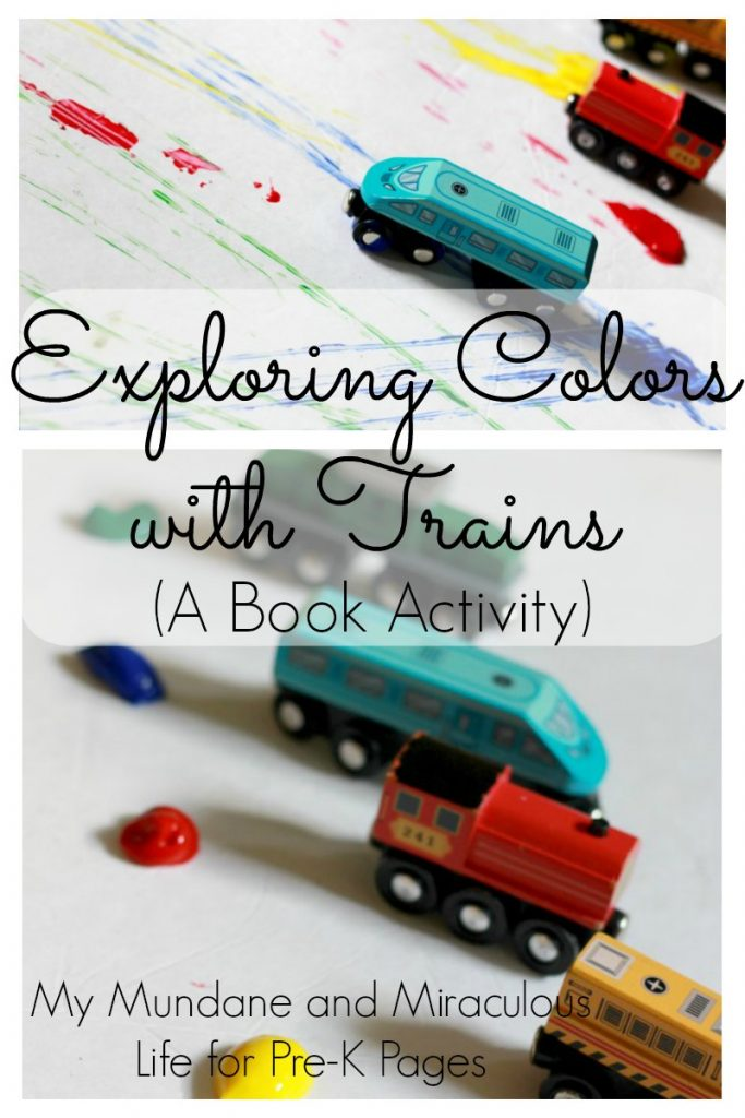 Pre K Pages Train Colors Pin