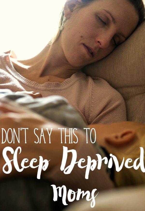 Sleep Deprived don't say
