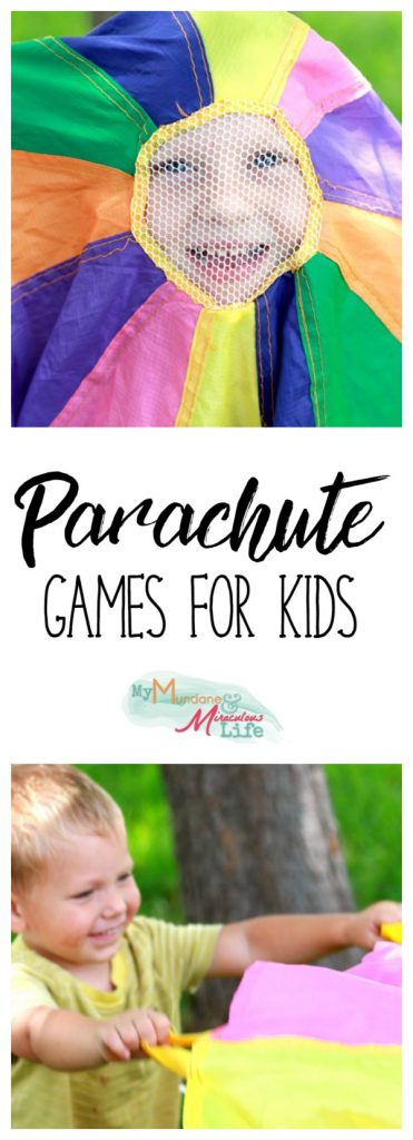 Parachute Games for Kids Pin