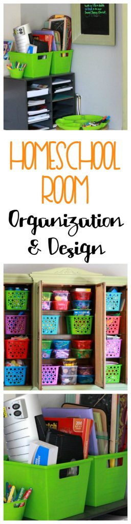 Homeschool Room Organization and Design 2