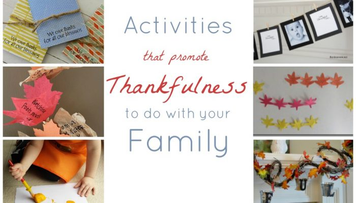 15 Decorative Ways to Promote Thankfulness
