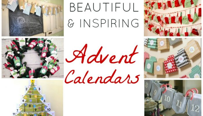 Advent Calendars that You Can Make Yourself!