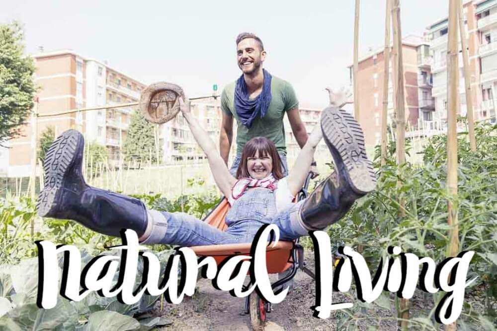 Natural Living Front Page