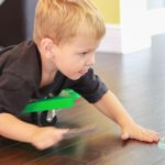 Scooter Board Sensory Activities