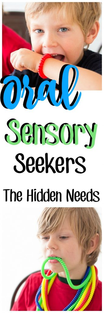 Children with #sensoryprocessingdisorder use oral sensory tools or #chewies to help self-regulate