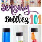 How to Make Sensory Bottles (A MUST for Sensory Meltdowns)