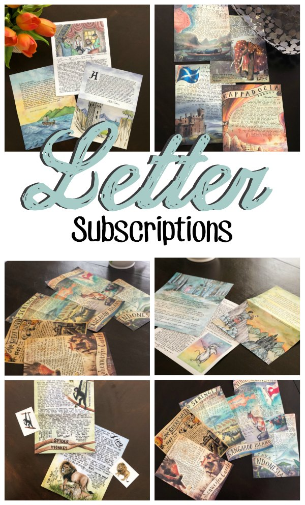 Letter Subscriptions for Learning and Fun